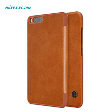 NILLKIN for xiaomi mi6 mi 6 case cover 5.15'' Vintage wallet Flip PU leather hard plastic back cover smart wake up for xiaomi 6(China)