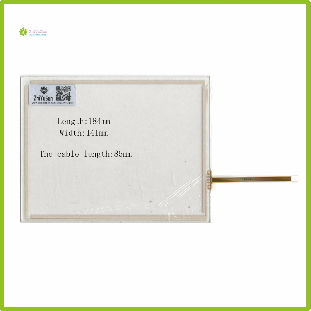 ZhiYuSun LST08002 8Inch 184mm*141mm  4Wire Resistive TouchScreen Panel Digitizer  184*141 this is compatible<br>