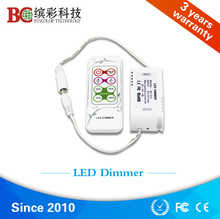 4 DIY modes LED PWM dimmer/ 12V 4A SMD 5050 LED Strip Light Dimmer with wireless RF remote control