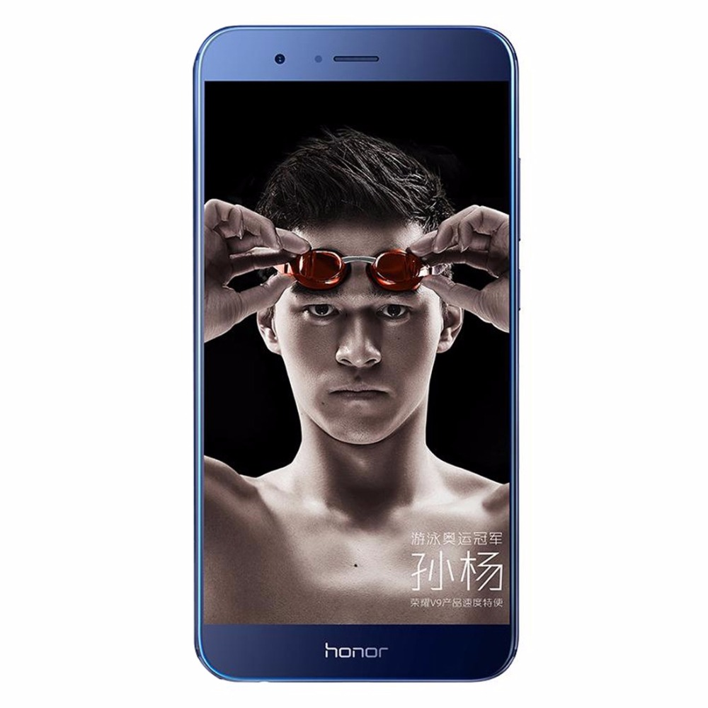 Huawei Honor V9 DUK-AL20 3GB RAM 16GB ROM 5.2 inch IPS Android 6.0 Snapdragon MSM8952 Octa Core 1.5GHz 4G LTE Smartphone 13.0MP