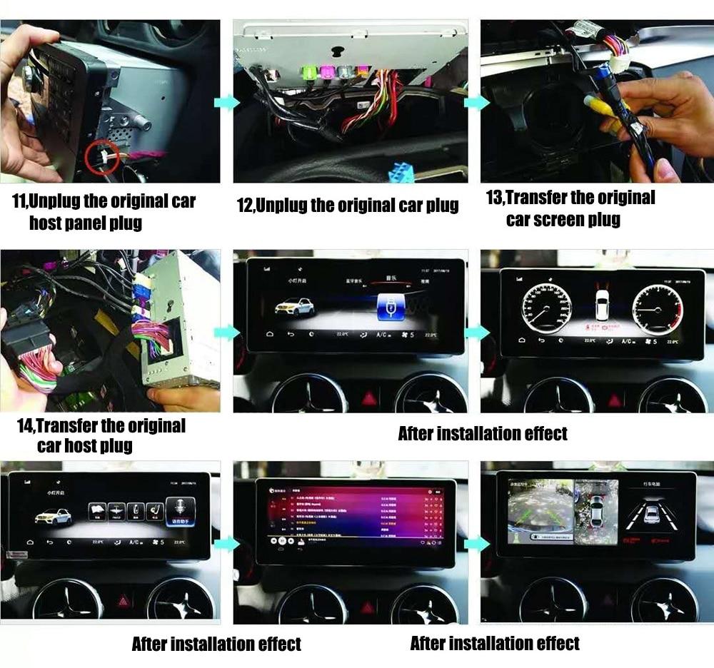 For Mercedes Benz GLK Class X204 2008~2015-5