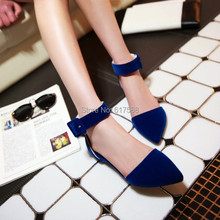 Women Summer Casual Sandals Women's Shoes Fashion Brand Sandals Gladiator Flat Pointed Toe Flat Heel Sandals Slip-resistant