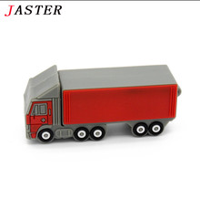Truck model Pen Drive 4GB 8GB 16GB 32GB lorry Usb Flash Drive Pendrive memory stick freight car gift U disk free shipping