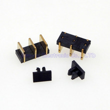 100pcs/lot 3Pin Blade battery holder for Nokia phone battery connector 4.8H 3.7mm pitch(China)