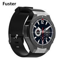 Fuster H2 Android Smart Watch MTK6580 1.3GHZ 1G+16G 5MP HD Camera Support 3G WCDMA Wifi Application from Play Store(China)