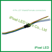 led lighting accessories 4 pin rgb led strip connector cable(China)