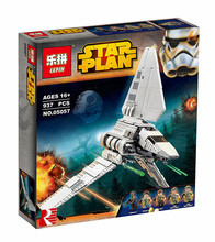 LEPIN 05057 Star War Series Imperial Shuttle Tydirium Building Blocks Bricks Mini Assembled Toys Compatible with 75094