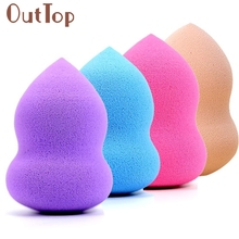 1PC Gourd-Shaped Powder Cosmetic Puff Three-Dimensional Latex Makeup Beauty Tools  3MAR16dropship