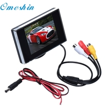 New Arrival 3.5 Inch TFT LCD Color Screen Car Rear View Monitor DVD DVR dr7(China)