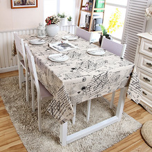2017 New Arrival Vintage Pattern Table Cloth High Quality Tablecloth Table Cover manteles para mesa Free Shipping(China)