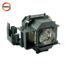 projector lamp bulb manufacturer V13H010L34 ELPLP34 for Epson EMP-62 EMP-62C EMP-63 EMP-76CEMP-82 EMP-X3 with housing