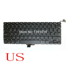 "New 100% Original A1278 US Keyboard Laptop Repair For Apple MacBook Pro Retina 2008 Notebook Parts 13.3"" Replacement"