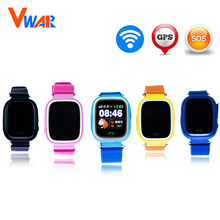 Original Q90 GPS Phone Positioning Fashion Children Watch 1.22 Inch Color WIFI Touch Screen SOS Smart Watch PK Q80 Q50 Q60