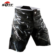 SOTF Personality domineering Thai boxing boxer shorts MMA shorts in the summer of male sanda training muay Thai muay thai boxing