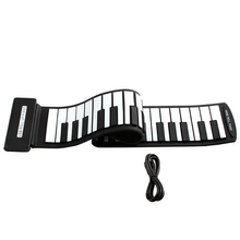 Flexible Portable Mini USB MIDI Piano 49 Keys Electronic Roll Up Keyboard Piano for Beginner Kids Children Toys Gift