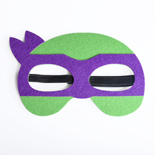 TMNT Purple Halloween Mask Superhero Ninja Turtle Adult Mask Costumes Festival Party Cosplay Supplies Birthday Gifts For Kids
