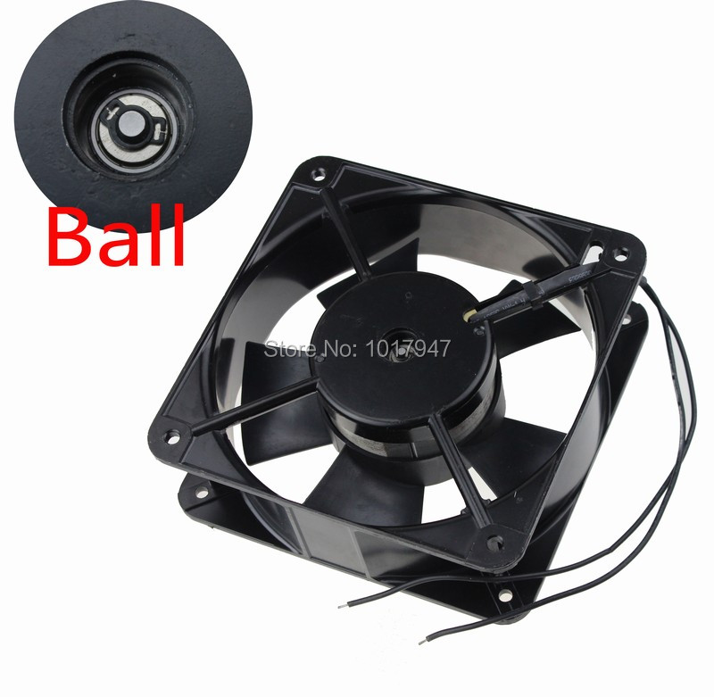 10Pcs lot 2Wire 220V 240V 180mm 180mmx60mm Ball Industrial Exhaust AC Cooling Fan<br>