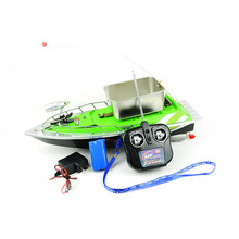 Mini Fast Electric RC Fishing Bait Boat 280M Remote Fish Finder Fishing Boat Lure RC Boat For Children Adult(China)