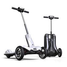 2017 MERCANE M1 10 inches Electric Scooter Folding Three Wheels Skateboard Bicycle Bike - Daibot Store store