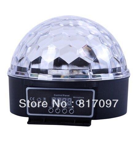 6W LED Bola Magica Sonido Mando a Distancia DJ Shop DJ Efectos Luces Efectos Luz Sonido Eventos Fiestas 7 DMX512 Canales<br>