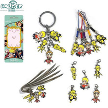 Naruto keychain High quality Wooden Leaves Ninja Village Uzumaki Naruto  Zinc Alloy anime CARTOON collection Llavero Chaveiro