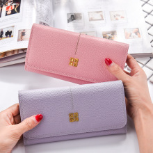 Women's Wallets Women Leather Wallet Luxury Design Ladies Party Clutch Patent Leather Purses Long Card Holder