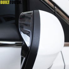 Side Wing Door Mirror Rain Guard Visor Shade Shield Rear View Cover Trim Fit For Ford Focus Mk3 2012 2013 2014 2015 2016 2017(China)