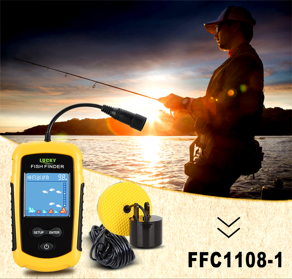 Findfish Wireless Portable Sonar Fish finder (11)