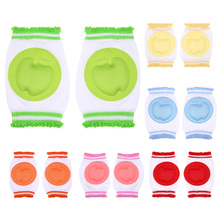 Soft Cotton Baby Knee Pads Safety Crawling Elbow Knee Protector Cushion Toddlers Infant Kneepads Winter Warm Leg Warmers(China)