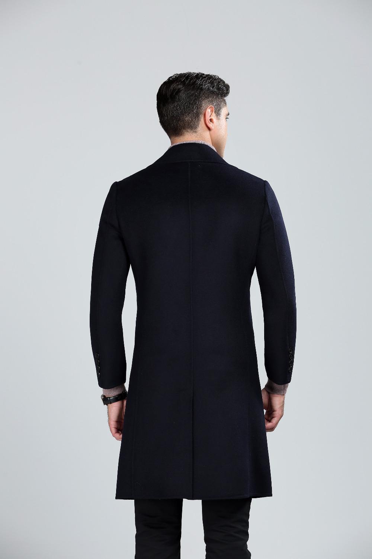 Mens fashion wool coat 46