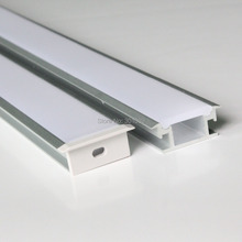 20m (20pcs) a lot, 1m per piece, floor aluminum profile for led strip light, thick cover which can be step on