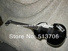 Black 4 Strings Violin Electric Bass Guitars Best high quality From China Free Shipping(China)