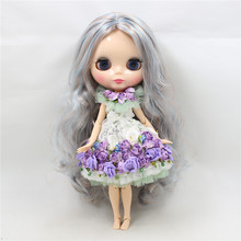 Fortune days Plastic Nude joint NEO blyth Azone body doll fashion cute 12 inch 30cm Dolls for girls gift can DIY like BJD dolls(China)