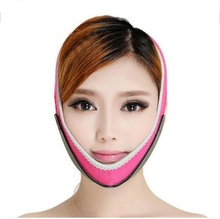 2016 hot new Health Care leeco Thin Face Mask Slimming Bandage Double Chin Face Belt weight loss products massage care(China)