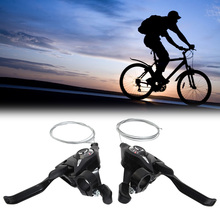TOMOUNT 21 Speed Cycle Shifter Brake Lever 3x7 MTB Mountain Bike Road Bike Cycling Disc Brakes Levers with Shift Cable Bicycle