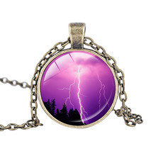 Fashion Little Storm Cloud Necklaces Pendant Beautiful Thunder Lightning Bolt Necklaces Grumpy Weather Forecast Necklace Jewelry(China)