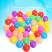 100pcs Colorful Ball Soft Plastic Ocean Ball Baby Kids Swim Pit Toy Tent Water Pool Wave Ball children Educatinoal Funny Toys