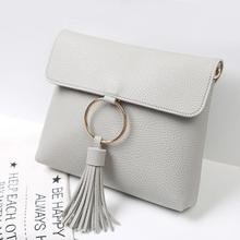 2017 Women Fashion Elegant Edging Clutch Bag Shoulder Bag Crossbody Bag Mini Tote Bag