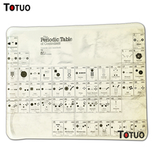 New special offer funny periodic table controlle DIY Printing Pattern Silicone notbook compute mouse pad gamer mouse pad
