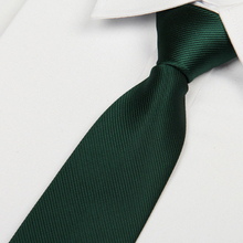2016 men's blackish green color tie 8 cm skinny necktie Casual gentlemen corbatas slim designers fashion formal party lote