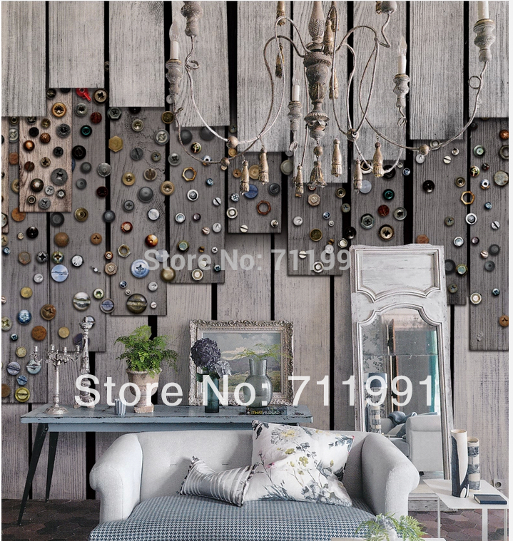 Free shipping custom large murals of the Nordic wood eco-living room-bedroom TV background wall on a Board of nuts<br>
