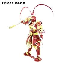 Finger Rock Monkey King 3D Metal Puzzle Myth Figure WuKong Sun DIY Jigsaw Toys Model 4PCS Cool design