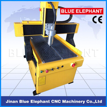 ELE6090 CNC Machine Cast Iron Frame Durable Working CNC Router 2.5kw Water Cooling Spindle Vacuum Table CNC Engraving Machine