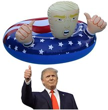 Donald Trump Pool Float XXL Best Summer 2017 Fun Inflatable Swimming Ring Floats For Pool Party Children Adults Water Toys