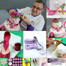 Fondant gum paste shoe cake topper molds Women high heels shoe cutter(China)