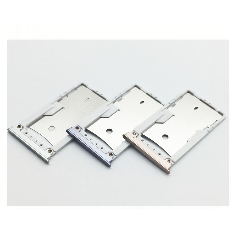 Gold/Silver/Grey SIM Card Tray Slot Holder For Xiaomi MI MAX Replacement Parts