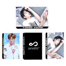 Youpop KPOP INFINITE ONLY Album LOMO Cards K-POP New Fashion Self Made Paper Photo Card HD Photocard LK439