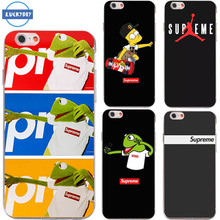 Luckydiy Suprem Case For iphone7 7splus 5 6 6s  transparent Silicone soft Tpu Case for Fashion Popular Brand Cell Phone Cover