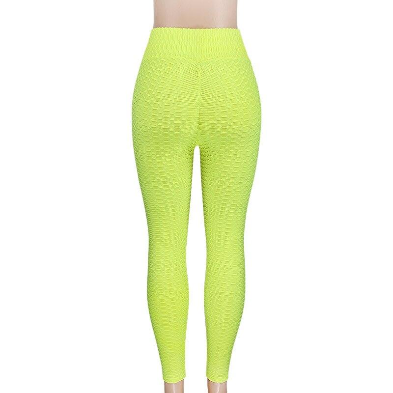 Women's High Waist Fitness Leggings, Fashion Push Up Spandex Pants, Workout Leggings 22