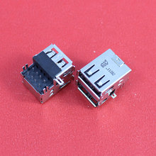 1Piece 2.0 Double USB Jack Connector for Acer Aspire 3050 5050 5070 3680 3260 5570 5580 5583 USB Board etc Laptop USB2.0 Port